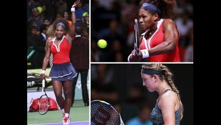 Serena Williams derrotó a Victoria Azarenka en el Masters de Estambul