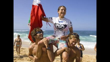 Sofía Mulanovich participará en Juegos Bolivarianos de Playa Lima 2012