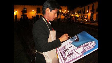 Cajamarca: Realizan concurso internacional de pintura rápida