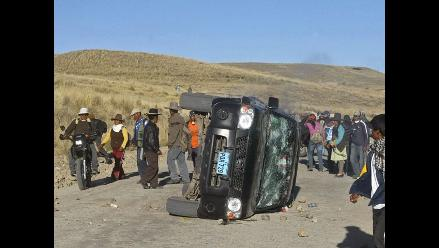 Arequipa: Cuatro extranjeros heridos deja accidente de tránsito en Chivay
