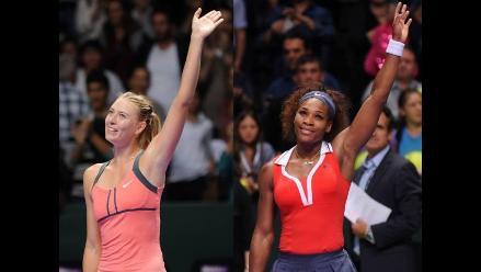 Lo mejor del triunfo de Sharapova y Serena, finalistas del Masters Femenino