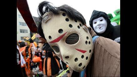 Desfile de monstruos en Japón por Halloween
