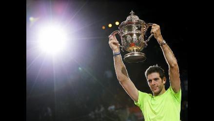 Las imágenes del triunfo de Juan Martín Del Potro sobre Roger Federer