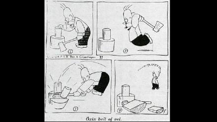 ¿Homero Simpson ya existía en 1920?