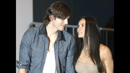 Ashton Kutcher y Demi Moore sin movimiento hacia el divorcio