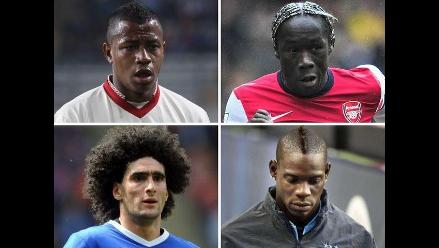 Los looks más extravagantes de los futbolistas en la actualidad