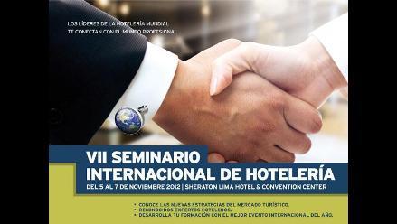 USMP organiza VII Seminario Internacional de Hotelería