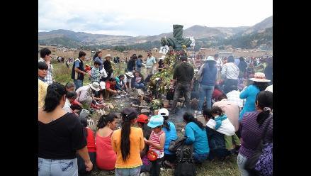 Cajamarca: Población celebró Día de los Muertos