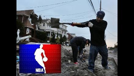 La NBA y el Sindicato de Jugadores donan dinero a damnificados de