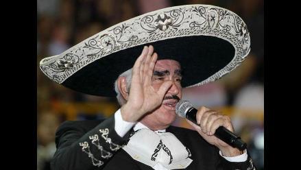 Vicente Fernández canceló sus conciertos en EE.UU. por operación