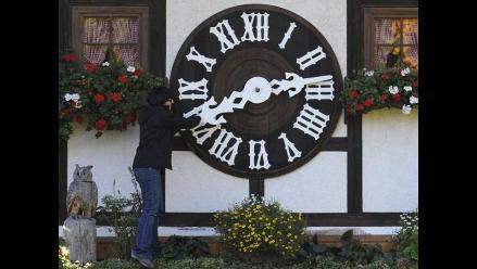 Estados Unidos atrasará una hora el reloj este domingo