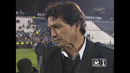 Franco Navarro: Si Alianza Lima jugaba así seguro pelearía arriba