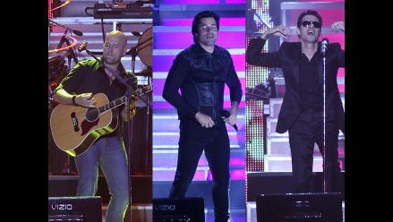 Gian Marco, Chayanne y Marc Anthony remecieron el Nacional