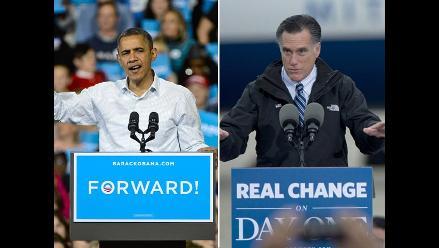 Obama y Romney están empatados con un 48 %, según el Washington Post