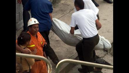 Casma: Un muerto y dos heridos tras derrumbe de sacos con mineral