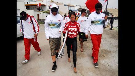 Sofía Mulanovich clasificó a la final de surf en Bolivarianos de Playa