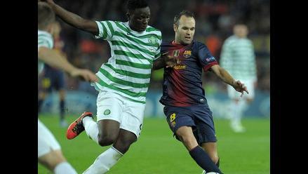 Incidencias del Celtic vs. Barcelona por la Champions League