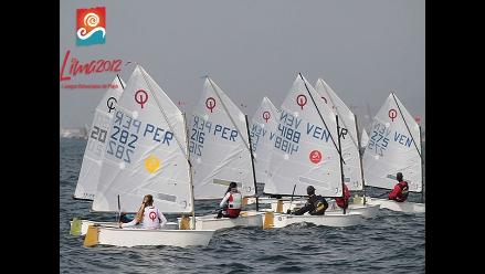 Bolivarianos de Playa: Perú acapara podio en clase Optimist de Vela