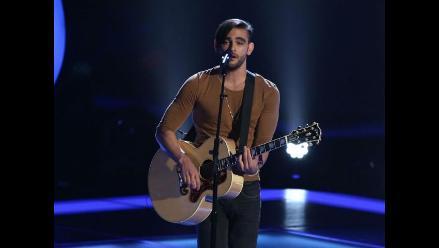 The Voice: Diego Val compite para quedar entre los doce mejores