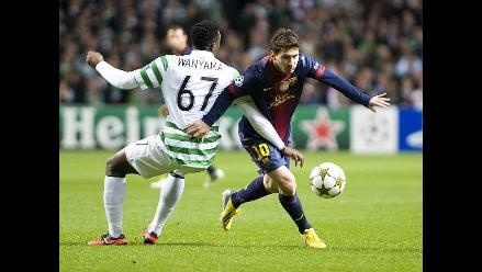 Barcelona tuvo poca suerte y escasa puntería ante Celtic, según prensa
