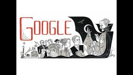 Google recuerda el nacimiento de Bram Stoker con nuevo doodle