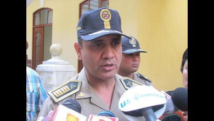Chiclayo: Jefe policial pide calma ante supuestas pintas de Sendero