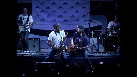 Jarabe de Palo inició gira peruana con buen pie