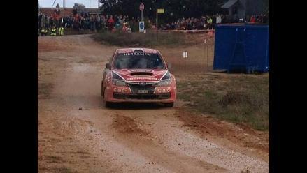 Nicolás Fuchs tuvo un complicado arranque en el Rally España