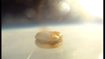 EEUU: Estudiantes lanzan al espacio una hamburguesa