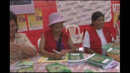 Campaña para valorar el trabajo no remunerada de las mujeres peruanas