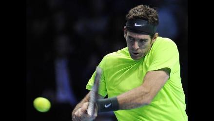 Juan Martín Del Potro feliz por batir récord ante Federer en Masters