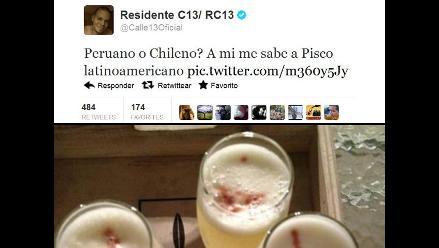 Residente de Calle 13 generó polémica por el origen del pisco