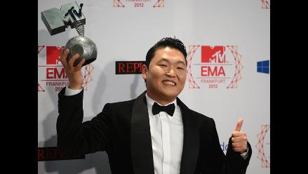 MTV EMA 2012: Gangnam Style de PSY se lleva premio a mejor video