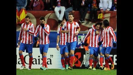 Atlético Madrid venció 2-0 al Getafe y sigue cerca del Barcelona