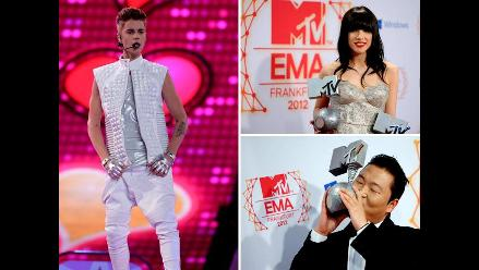 Los ganadores de los MTV Europe Music Awards