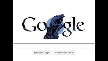 Google homenajea a Auguste Rodin en su 172 aniversario