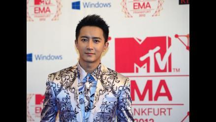 Hangeng triunfa en los MTV EMA 2012