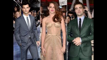 Desfile de estrellas en el estreno mundial de la película Crepúsculo