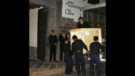 Llegó último lote de piezas de Machu Picchu devueltas por Yale