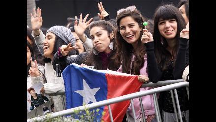 Fans de Latinoamérica llegaron al país para ver a Big Bang
