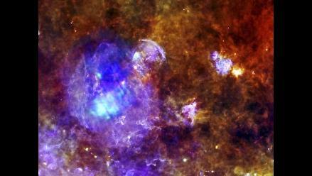 Difunden imagen de la muerte de una estrella a 10.000 años luz