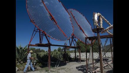 Cocina industrial abastecida por energía solar en México