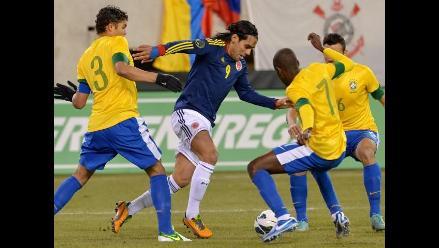 Colombia y Brasil empataron en amistoso donde Neymar falló un penal