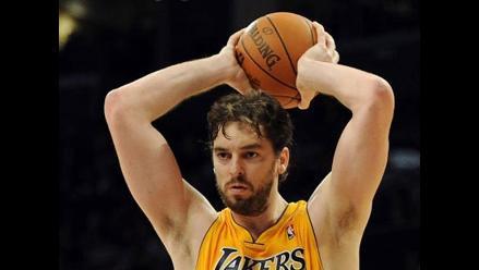 Pau Gasol: Los Lakers vamos a correr más con el nuevo entrenador