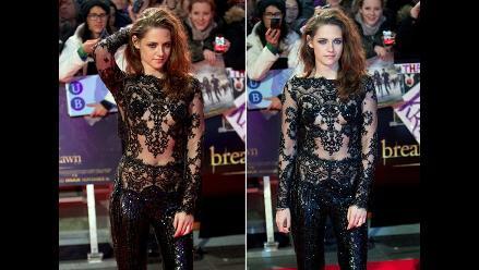 Kristen Stewart, sensualidad total en estreno de Amanecer 2 en Londres