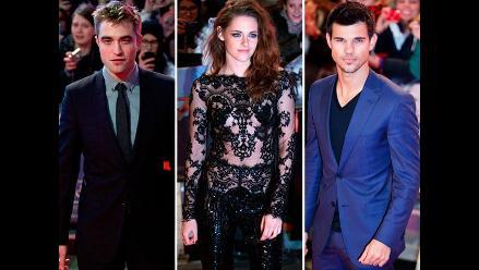 Protagonistas de Crepúsculo asistieron al estreno de la película