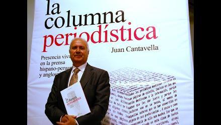 Presentan La Columna Periodística, de Juan Cantavella