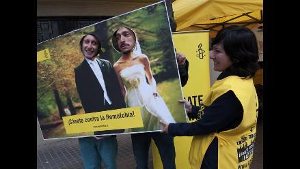 Chilenos piden tolerancia a la homosexualidad