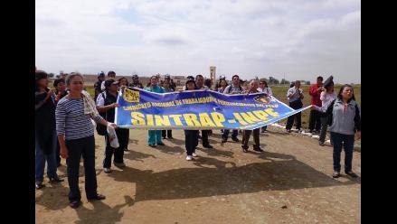 Chiclayo: Trabajadores del Inpe amenazan con radicalizar protesta