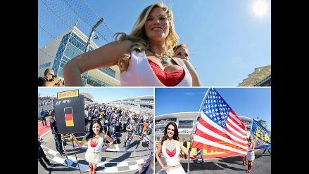 Gran Premio de Estados Unidos estuvo plagado de belleza en la pista